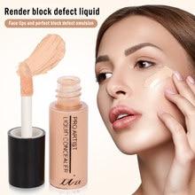 Xixi corretivo líquido alto cobrindo manchas escuras maquiagem rosto fundação hidratante longo-vestindo corretivo vara tslm1