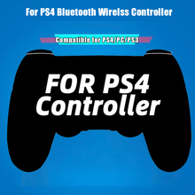 Hot ! For Wireless Gamepad Controller For Playstation Dualshock PS4 4 Bluetooth Joystick Gamepads for PS4/PS4 Pro Silm PC game
