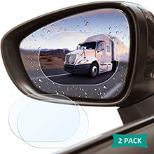 Película impermeable para espejo retrovisor de coche, accesorio adhesivo de membrana impermeable, antiniebla, 2 uds.