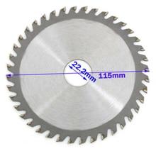 115/125mm 40T Circular Saw Blade Wood Cutting Disc For Metal Chipboard Cutter 4/5