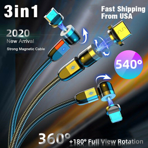 USLIO 540° 3A Charger Cable 3