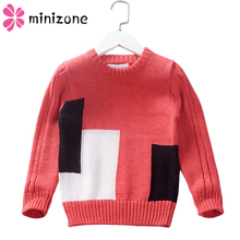 Kids Boys Sweater 2019 Autumn Winter Knitted Cotton Toddler Clothing Pullover For 4-9Years Outerwear Coat  MM6