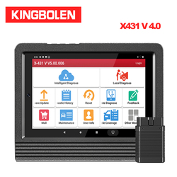 Launch X431 V 4.0 OBD2/EOBD 8 Inch Diagnostic Tool 2 Years free Update DBScar 30+ Special Reset X-431 Pro Mini 8