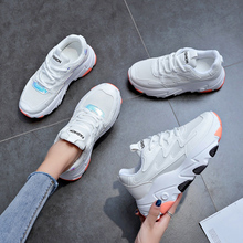 LZJ New Fashion Womens Men Shoes Bwomens Sneakers 2019 Lace Up Shoes Non-Slip Light Sneakers Moda Mujer 2018 Zapatillas Mujer