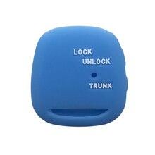 Car-Key-Cover Remote-Control RAV4 TOYOTA CAMRY PRADO Keychain-Alarm Silica-Gel-Case