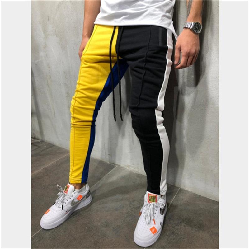 Casual Pants Hip-Hop Striped Tracksuit Jogger Matching New-Fashion Stadium Gymnasium