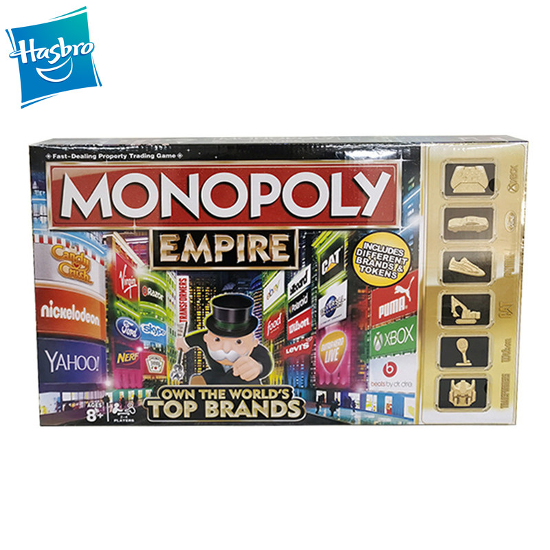 Hasbro Gaming Monopoly Educational Toys Classic English EMPIRE Monopoly Game Board Game