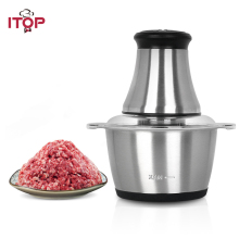 ITOP New Electric Stainless Steel Meat Grinder Meat Chopper Mincer Kitchen Food Press Machine Sausage Home Appliances