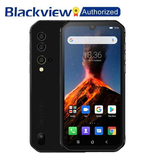 Blackview BV9900 Helio P90 Octa Core 8 + 256GB IP68 Robuste Handy Android 9.0 48MP Quad Hinten Kamera NFC smartphone Globale 4G
