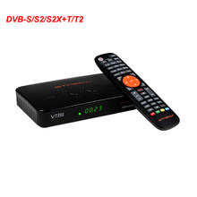 New HD Decoder GTMEDIA V7 PRO CA Set Top Box DVB-S S2 S2X DVBT T2 Combo Satellite Receiver(China)