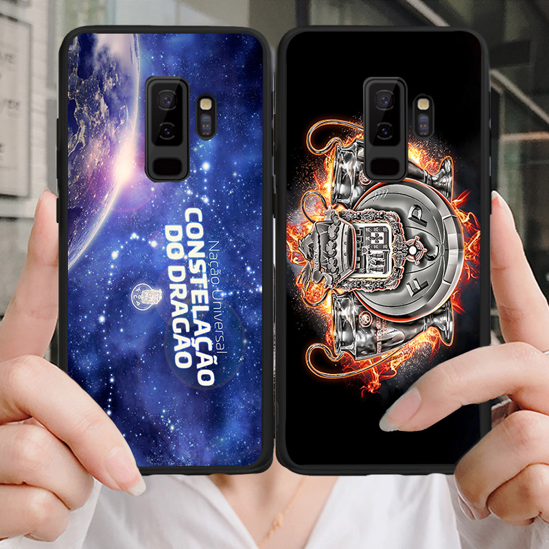 Yinuoda Phone Case For Porto FC Samsung Galaxy Shell Note4 A7 A8(2018) A9 Black Soft TPU Cover For FC Porto J2Pro J4 J6 J7 Note5