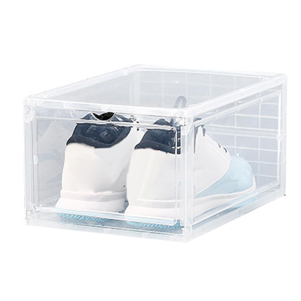 1Pcs Plastic Shoe Box Transparent Drawer Case Dustproof Shoes Storage Container Storage Box For Toys Shoes Box Shoe Storage