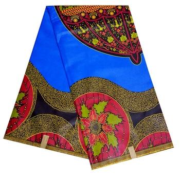 2020 Royal Prints African Fabric 100% Cotton Ankara Kente Real Nigeria Wax Fabric Best Quality 6yards 2020 african wax batik prints fabric 100% cotton ankara kente real nigeria wax fabric best quality for dress 6yards