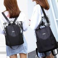 Women Fashion Backpack Oxford Multifunction Bags Female Anti-theft Casual Backpacks Girl's Elegant Mochila For School Work