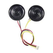 8 Ом, 2 Вт, круглый динамик с 4 контактным кабелем для платы контроллера ЖК дисплея, подходит для разъема динамика PH2.0