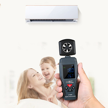 Digital Anemometer Thermometer Portable Wind Meter Wind Speed Sensor Windmeter With Data Holding Current Wind Speed Selection holdpeak hp 866b app digital anemometer with mobile app the best wind speed meter measures temperature wind chill with backlight