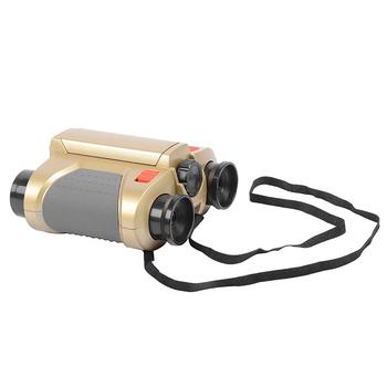 Lornetka 4X30 dla dzieci lornetka zabawkowa noktowizor teleskop z Pop-up Light Zoom lornetka lornetka dla dzieci tanie i dobre opinie CN (pochodzenie) Lornetki Binoculars
