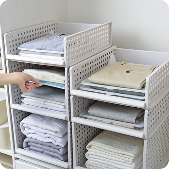 Storage Rack for Finishing Clothes Plastic Layered Separator Drawer for Clothes Folding Wardrobe Home Organization and Storage simple children s baby wardrobe lockers finishing cabinet baby clothes children plastic drawer storage cabinets wardrobe