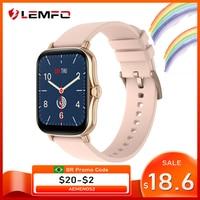 LEMFO-reloj inteligente Y20 P8 Plus para hombre y mujer, pulsera completamente táctil de 2021 pulgadas, impermeable IP67, rastreador de Fitness, Dial personalizado, GTS 2, 1,7