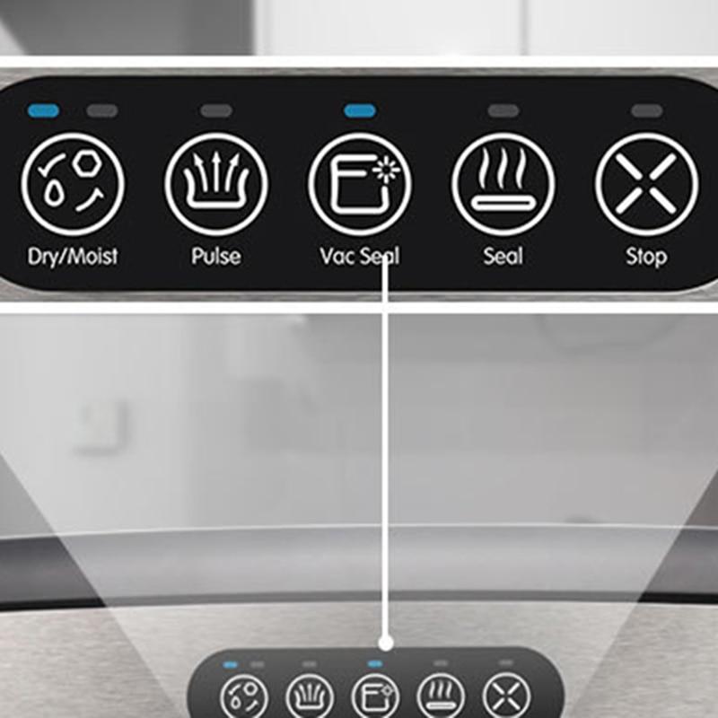 Machine d'emballage sous vide domestique petite Machine de cachetage automatique Machine de cachetage sous vide Machine de cachetage automatique de nourriture avec Be - 6