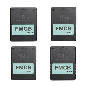Image 1 - FMCB Giá Rẻ McBoot Thẻ Cho Sony PS2 Cho Playstation2 8MB/16MB/32MB/64MB thẻ Nhớ V1.953 OPL MC Khởi Động