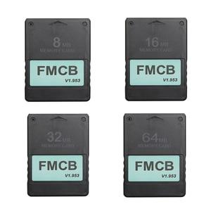 Image 1 - FMCB משלוח McBoot כרטיס עבור Sony PS2 עבור Playstation2 8MB/16MB/32MB/64MB זיכרון כרטיס v1.953 OPL MC אתחול