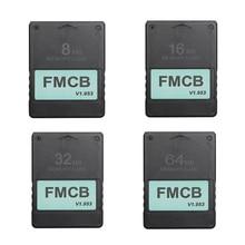 Fmcb livre mcboot cartão para sony ps2 para playstation2 8mb/16mb/32mb/64mb cartão de memória v1.953 opl mc boot
