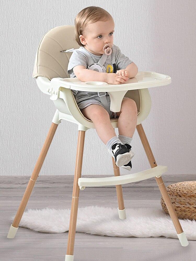 Детский высокий стул, подлинный портативный стул для кормления, детский высокий стул, Многофункциональный Детский обеденный стул 3