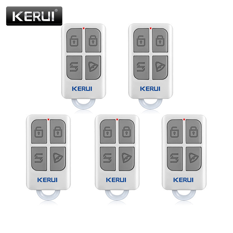 KERUI  3pcs/5pcs Wireless Remote Control For GSM PSTN Home Security Voice Burglar Smart Alarm System G18 G19 W1 W2 W18 K7