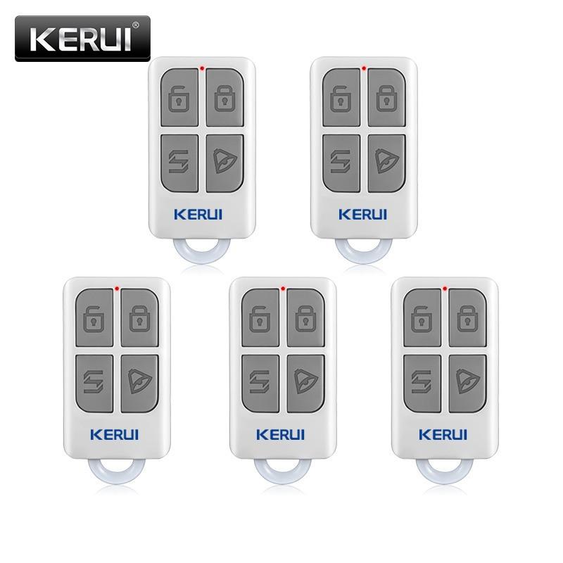 KERUI  3pcs/5pcs Wireless Remote Control For GSM PSTN Home Security Voice Burglar Smart Alarm System G18 G19 W1 W2 W18 K7