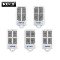 KERUI 3 piezas/5 piezas de Control remoto inalámbrico GSM PSTN seguridad voz ladrón inteligente sistema de alarma de G18 g19 W1 W2 W18 K7