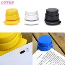 HOT No Nails No Staples Stapling Machine Book Stapleless Paper Stapling Without Free Staple Stapler 1 Pc