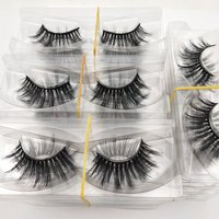 Buzzme Wholesale 50 Pairs 29 Styles free shipping Eyelashes natural 3D faux mink eyelashes fake lashes long makeup extension
