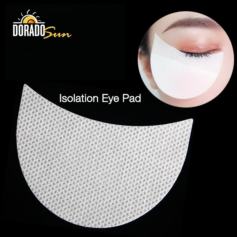 Doradosun 100pcs Disposable Makeup Eye Pad Eyeshadow Isolation Pads Grafting Eyelash Pads