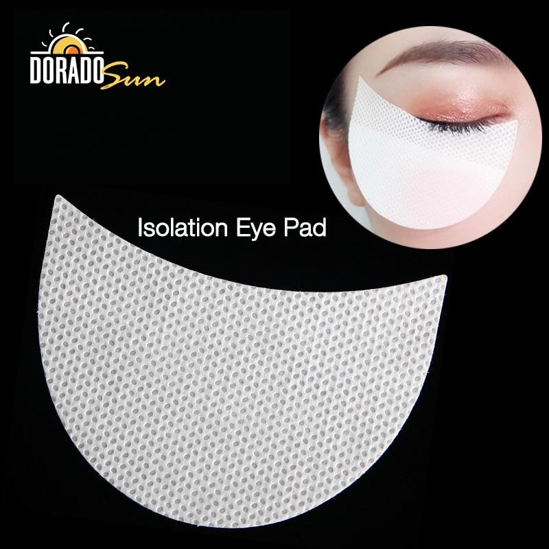Doradosun 100pcs Disposable Makeup Eye Pad Eyeshadow Isolation Pads Grafting Eyelash Pads