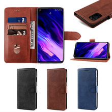 For Umidigi S5 Pro Case Calf Grain PU Leather Flip Stand Wallet Cover with Card Slots and Magnetic Buckle For Umidigi S5 Pro for apple ipod touch 7 case vintage calf grain leather flip stand shockproof wallet cover for ipod touch 5 6 case card holder