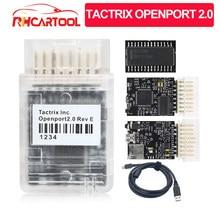 Strumento diagnostico OBD2 per toyota Tactrix Openport 2.0 con ECU FLASH ECU Chip Tunning scanner per lettore di codici con can 2.0 k-line