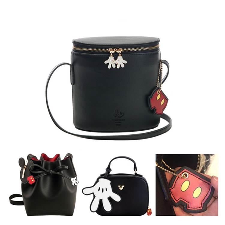 Fashion Cute Mickey Minnie Handbag Women Crossbody Bag Cartoon Shoulder Satchel Bag Girls Mickey Minnie Bag Bolsa Bolsos Mujer