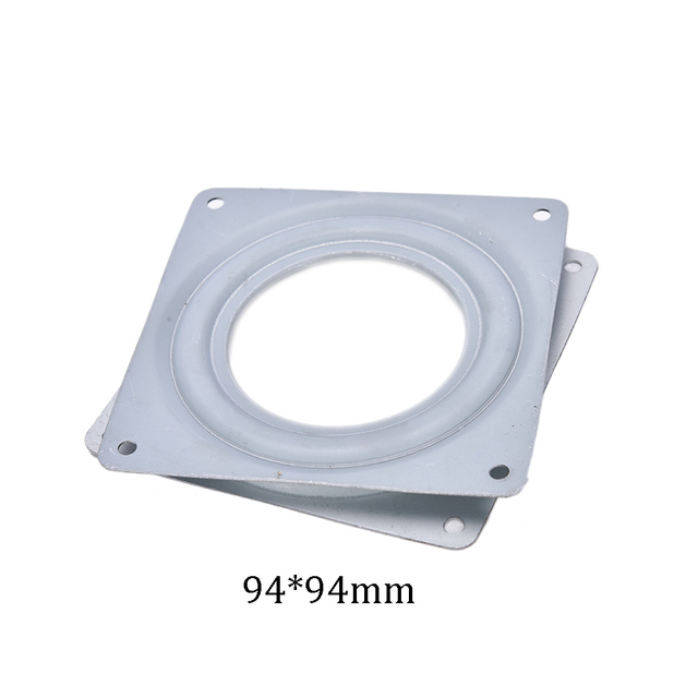 1PCS Furniture Wheel Parts Industrial Rotary Table Bearing Swivel Plate Dining Table Turntable Hotel Home Improvement 2