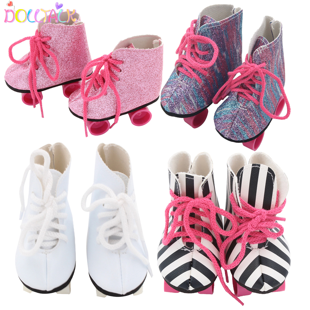 7 cm Doll Shoes  For 18 Inch American Doll & 43 cm Born Baby Doll Boots For 43 cm Baby, Nenuco,Our Generation,Girl's Gift