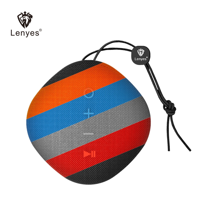Lenyes Brand Portable Speaker Bluetooth Outdoor Wireless Music Speakers Subwoofer Sports Stereo Sound Bass Mini Player New S801 image