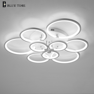 Round LED Chandeliers Decor Ho