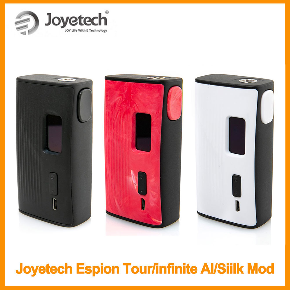 RU Warehouse Original Joyetech ESpion Tour Mod Output 220W POWER/TEMP(NI/TI/SS)/TCR Mode Vapor Kit Electronic Cigarette