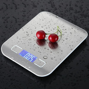 Kitchen-Scale Electronic-Weighing-Scale Digital Household Measuring-Tool Slim LCD 5/10kg