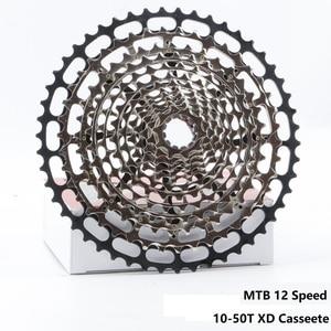 Image 1 - Ultralight MTB 12 Speed 10 50T XD ULT Cassette Ultimate CNC Mountain Bike Freewheel Steel Durable 12s k7 Sprocket 390g