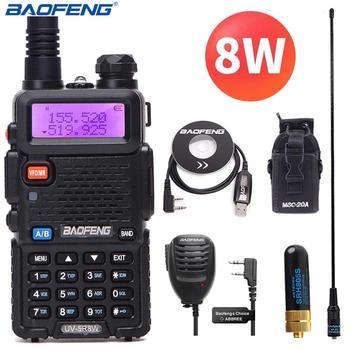 Baofeng UV-5R 8W High Powerful Two Way Radio Walkie Talkie 8 Watts CB Ham Portable Radio 10km Long Range Pofung UV5R for Hunting 1