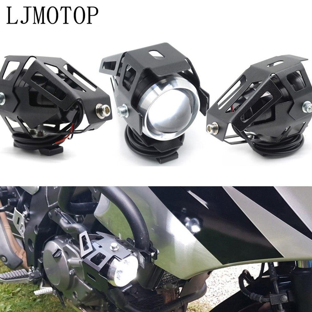 Motosiklet LED farlar U5 12V dekoratif lamba spot HYOSUNG MODEL GT250R GT650R title=