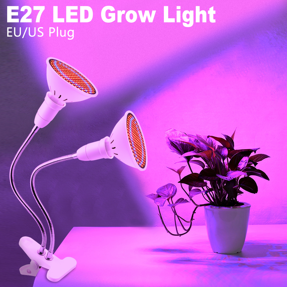Painel LED Grow Red Light Therapy Light Plants Seeds Flower Full Spectrum LED Grow Lights Clip For Grow LED Growbox Seed Hydro
