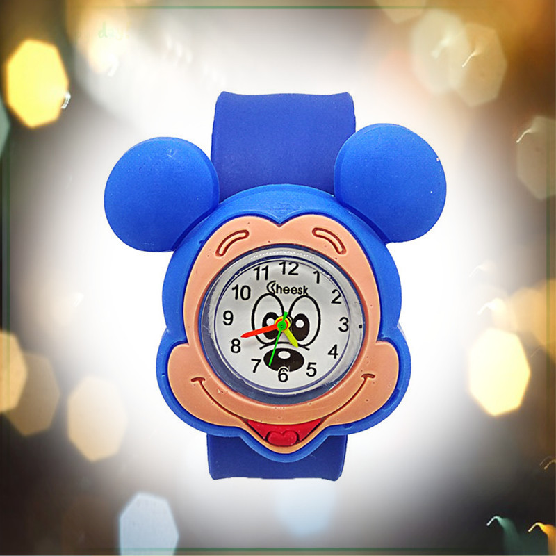 Dropshiping New Cute Cartoon Minnie Watch Children Quartz Clock Child Baby Mickey Kids Watches For Kid Boys Girls Unisex Relojes