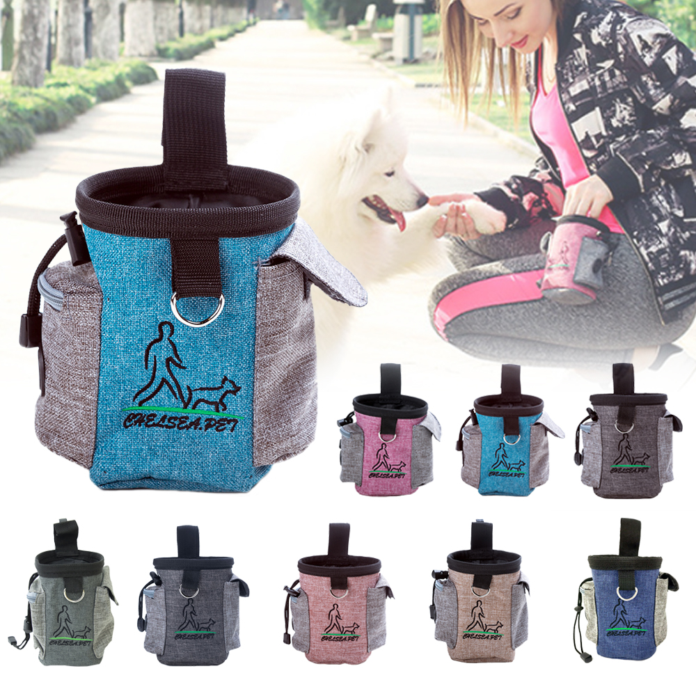 dog supplies Snack Bait Dog Outdoor Portable Training Snack Bag Pet Supplies Strong Wear Resistance  dog bell  dog collars-0
